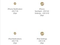 Logo Sizes for iOS