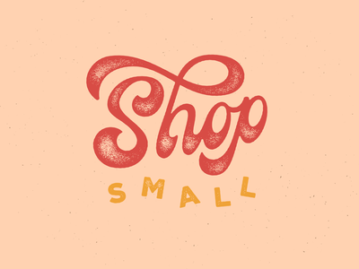Shop Small graphic design small shop swash design fat bottomed lettering hand lettering lettering shop small