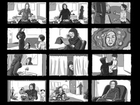 AlArabi Storyboard woman women emirates uae dubai qatar impact kuwait riyadh ksa saudi gulf mena gcc middle east sketching arabic arab arabian storyboard