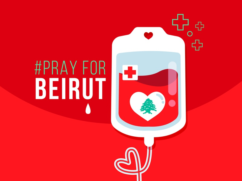 #PrayForBeirut love heart tear tree cedar lives e donor explosion blast bank blood donate prayer lebanon beirut pray