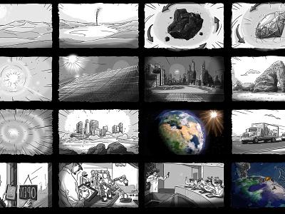 G20 Storyboard sustainability education space white black sustainable sketch love arabian freelancer arab cute design freelance illustration