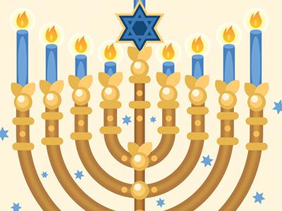 Menorah Card Illustration illustration download temple holy dreidels jerusalem tradition hannukah jewish menorah
