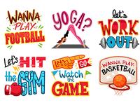 Sports Stickers WuwuMagic App