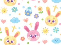 Pastel Easter Bunny