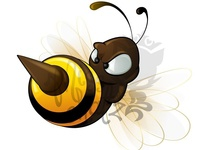 Angry Bee/ Hornet