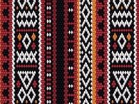 Sadu Fabric Pattern