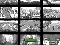 King Abdullah Port storyboard