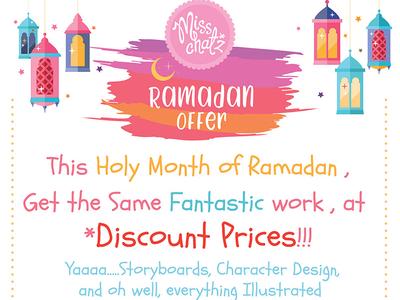 Ramadan Illustration Offer