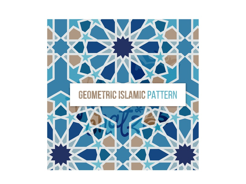 Seamless Geometric Islamic Pattern by Miss ChatZ on Dribbble