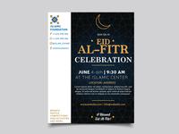 Eid Al Fitr Flyer Template
