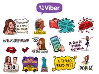 Severina Magic Tour Viber Stickers