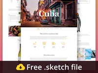 Travel Landing Page Pack Freebie