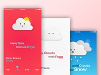 Some Cute Cloud Illustrations for Kids