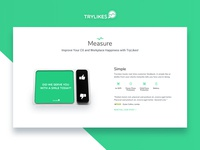 Startup Landing Page / Device Info