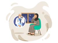 Telemedicine Illustration