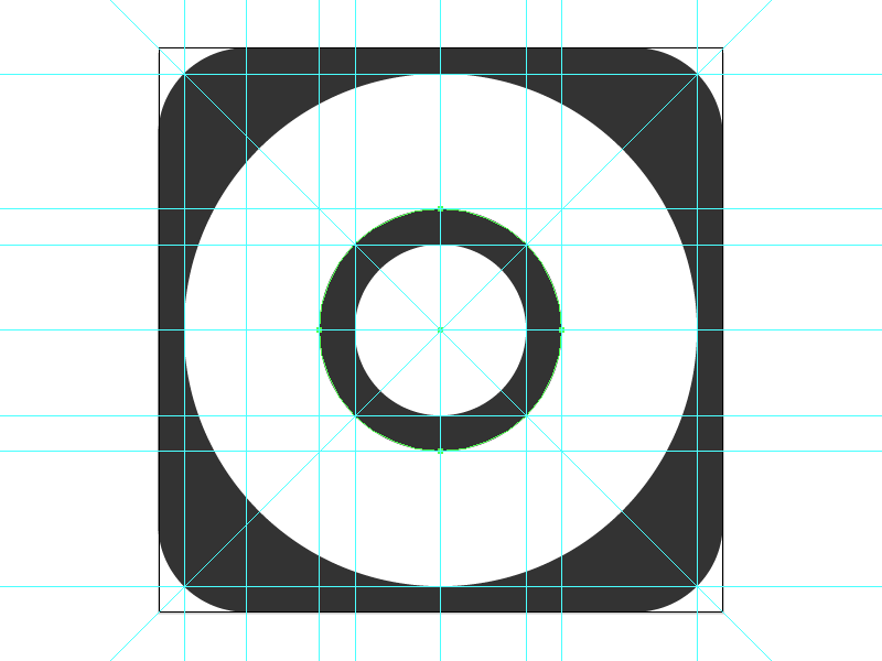 IOS 7 8 9 App Icon Template In Adobe Illustrator Format