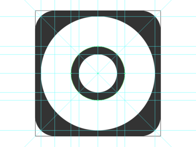 iOS 7/8/9 App Icon Template In Adobe Illustrator Format by Mandar ...