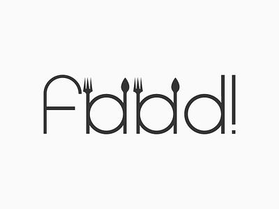 Foodi Logotype Designed by Mandar Apte symbol logo design graphic dinner lunch motel hotel restaurant spoon eat food