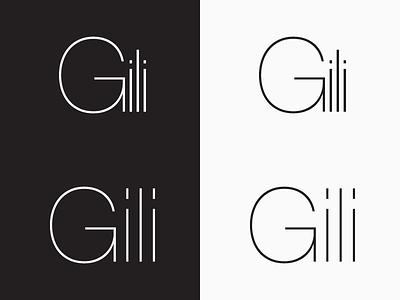 Gili Jewellery Logotype Design by Mandar Apte symbol logo diamond gold store shop graphic design logotype jewellery gili