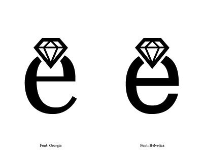 Diamonds 01 Logo & Symbol Designed by Mandar Apte brand logotype typography graphic design designer expensive dream jewellery symbol logo diamond
