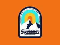Myrkdalen Mountain Resort Badge vol. 2