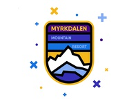 Myrkdalen Mountain Resort Badge vol. 3