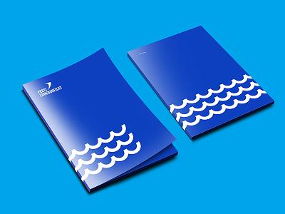 Estonian Kiteboarding Association – Folder kitesurfing lohesurf kitesurf kiteboarding estonia rebranding rebrand branding folder
