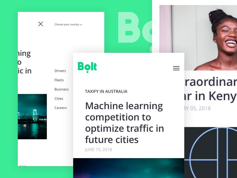 Bolt blog UI design blog design web design ui design blog