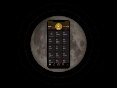 Home Security App | Night Mode