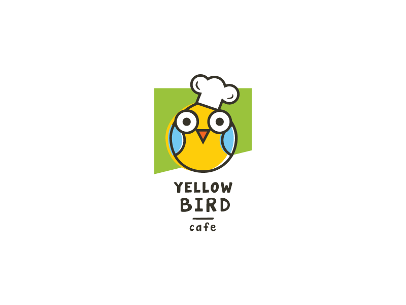 Yellow Bird cafe (sale logo)