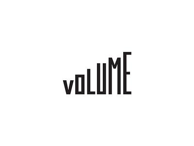 Volume music creative volume fun mark brand idea logos logo