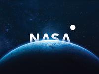 Nasa mark icon black vector illustration idea brand flat minimal space nasa logos logo