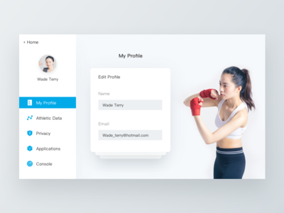 Daily UI-Personal data