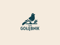 Cafe Gołębnik logo design