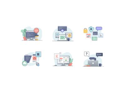 Illu Web illustration vector