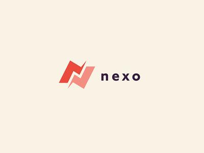 Nexo vector logo branding