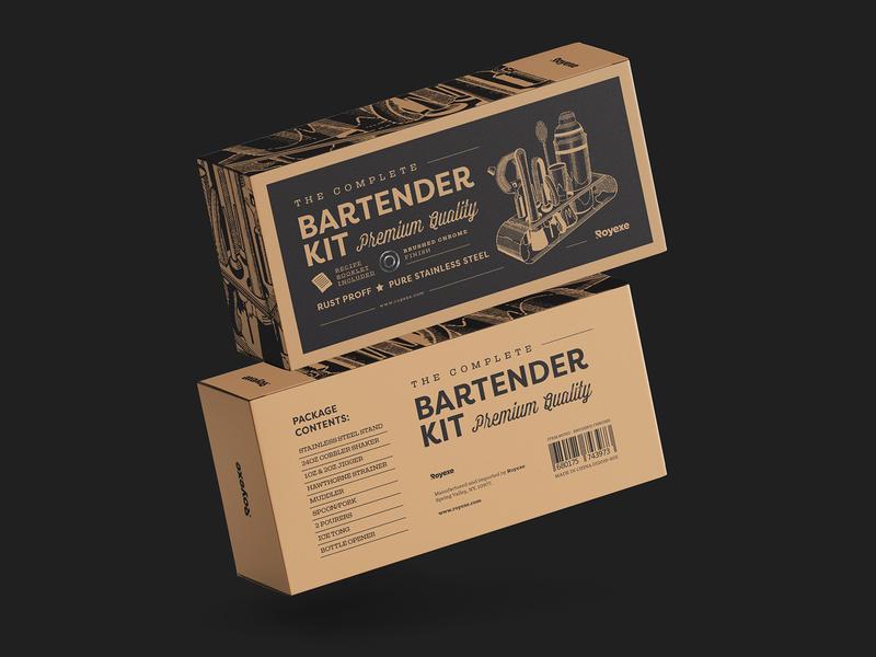 bartender kit packaging