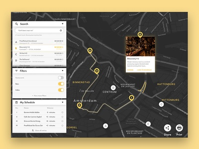 Interactive Travel Planner—UI Weekly Challenges S02 [3/10] season 2 ui weekly challenge