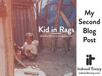 Kid in Rags   Blog Post 2