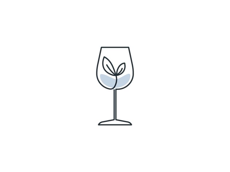 VinoVest Growth Detail branding spot fun uxui flat webdesign graphic vector design illustration