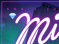 Neon Miley promo