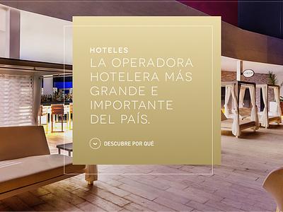 Hotel UI Detail Concept stage home web landing ui concept hotel