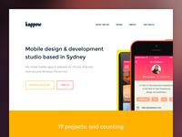 Kappow landing page