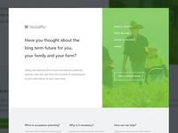Australian farming web app