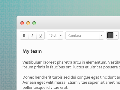 Text editordribbble