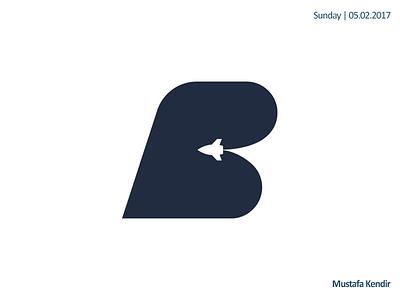 bufferband hosting logo letter b logo host rocket cloud hosting