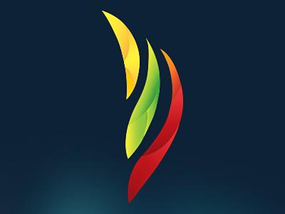 Flame Logo flame logo brand branding lithuania national flag leonov