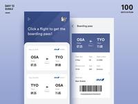 Boarding pass-App