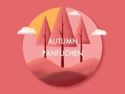 ANTUMN PANFUCHEN autumn logo branding illustration poster poster a day 365 daily challenge 365 days poster 365 design photoshop