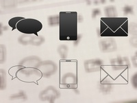 Messaging Icons